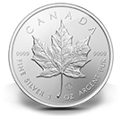 Bullion producten zilveren Maple Leaf munten