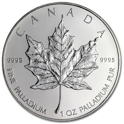 Palladium Maple Leaf munten - mapleleaf.nl