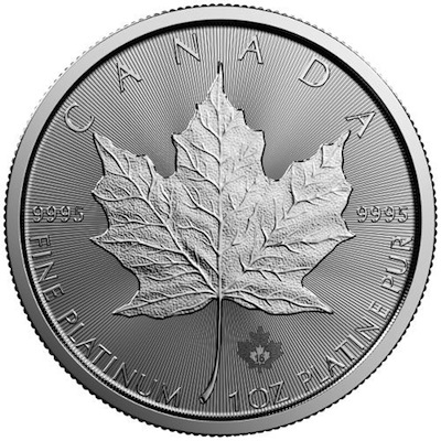 Platina Maple Leaf munten - mapleleaf.nl