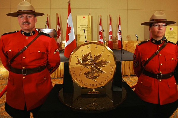 100 kilogram Maple Leaf gestolen uit museum